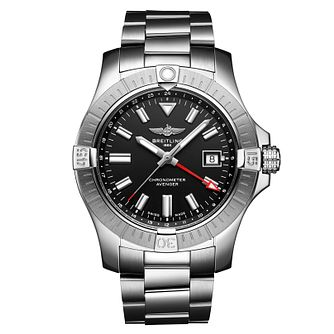 Breitling Avenger Automatic GMT 42 Stainless Steel Watch - Product number 1189727