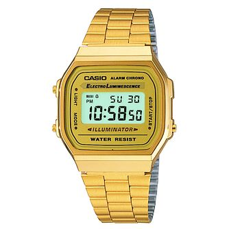 Casio Wonder Woman 84 Gold Tone Bracelet Watch - Product number 1189743