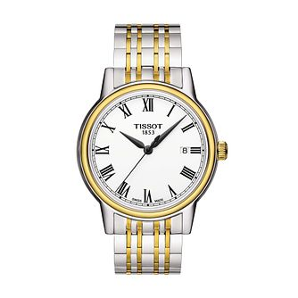 Tissot Carson Men's Two Tone Bracelet Watch - Product number 1192140
