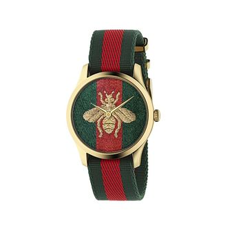 Gucci G-Timeless Le Marche Des Merveilles Bee Strap Watch - Product number 1193481