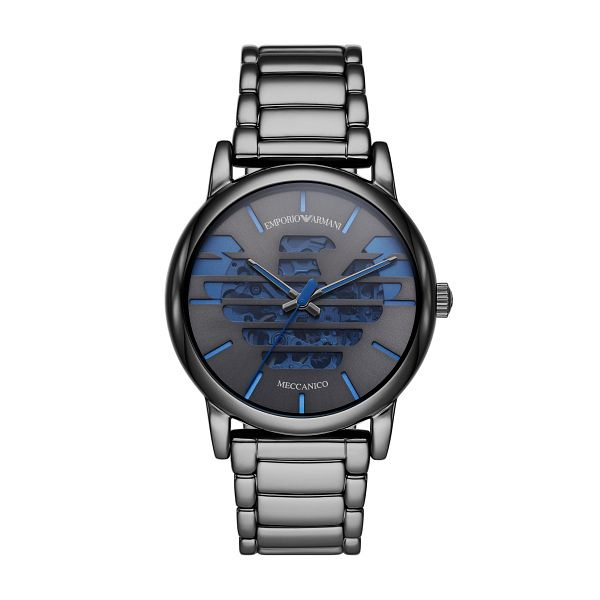 Emporio Armani Men's Grey Ion-Plated Bracelet Watch - Product number 1193503