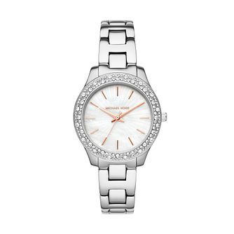 Michael Kors Liliane Ladies' Stainless Steel Bracelet Watch - Product number 1193546