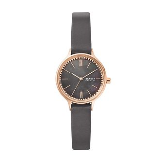 Skagen Anita Ladies' Rose Gold Tone Mesh Bracelet Watch - Product number 1193856
