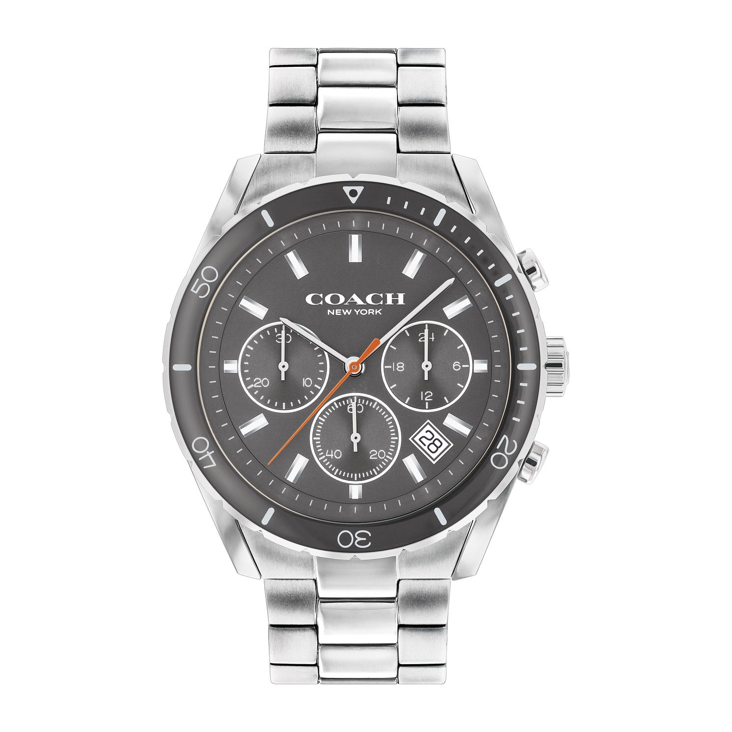 Coach Preston Men's Stainless Steel Bracelet Watch - Product number 1195042
