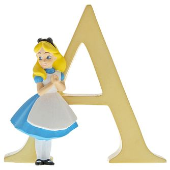 Disney Enchanting Alphabet Alice Ornament - A - Product number 1195328
