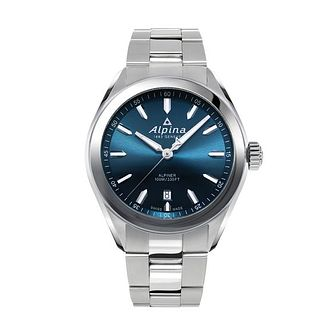 Alpina Alpiner Quartz Men's Stainless Steel Bracelet Watch - Product number 1196057