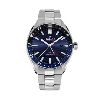 Alpina Alpiner Quartz Men's Stainless Steel Bracelet Watch - Product number 1196073