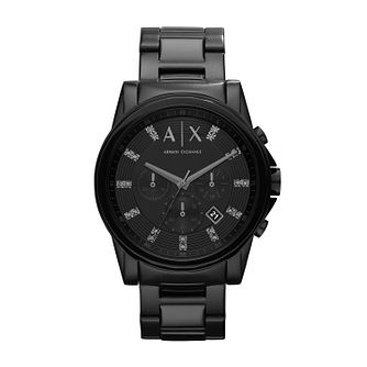 Armani Exchange Men's Black IP Bracelet Watch - Product number 1196669