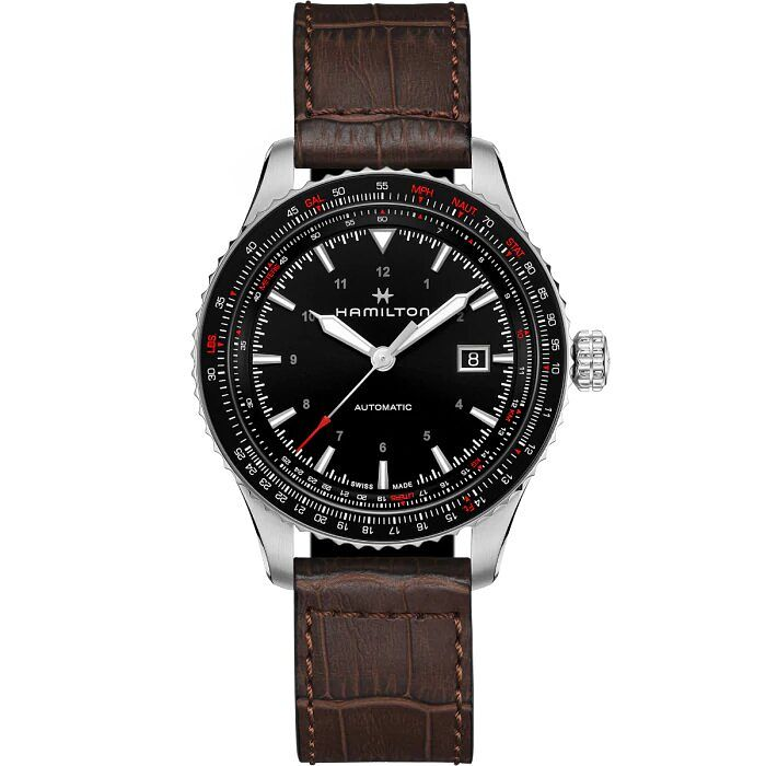 Hamilton Khaki Aviation Converter Auto Chrono Men's Watch - Product number 1198602
