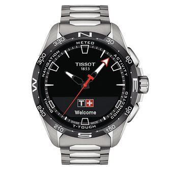 Tissot T-Touch Connect Solar Titanium Bracelet Watch - Product number 1199552