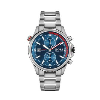 BOSS Globetrotter Men's Stainless Steel Bracelet Watch - Product number 1201808