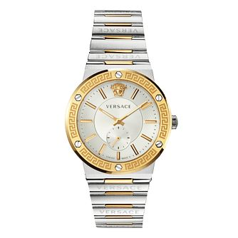Versace Greca Ladies' Two Tone Bracelet Watch - Product number 1202383