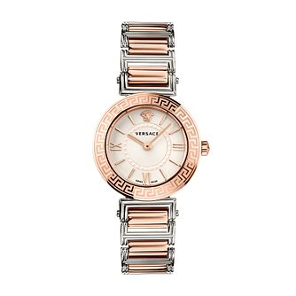 Versace Tribute Ladies' Two Tone Bracelet Watch - Product number 1202405