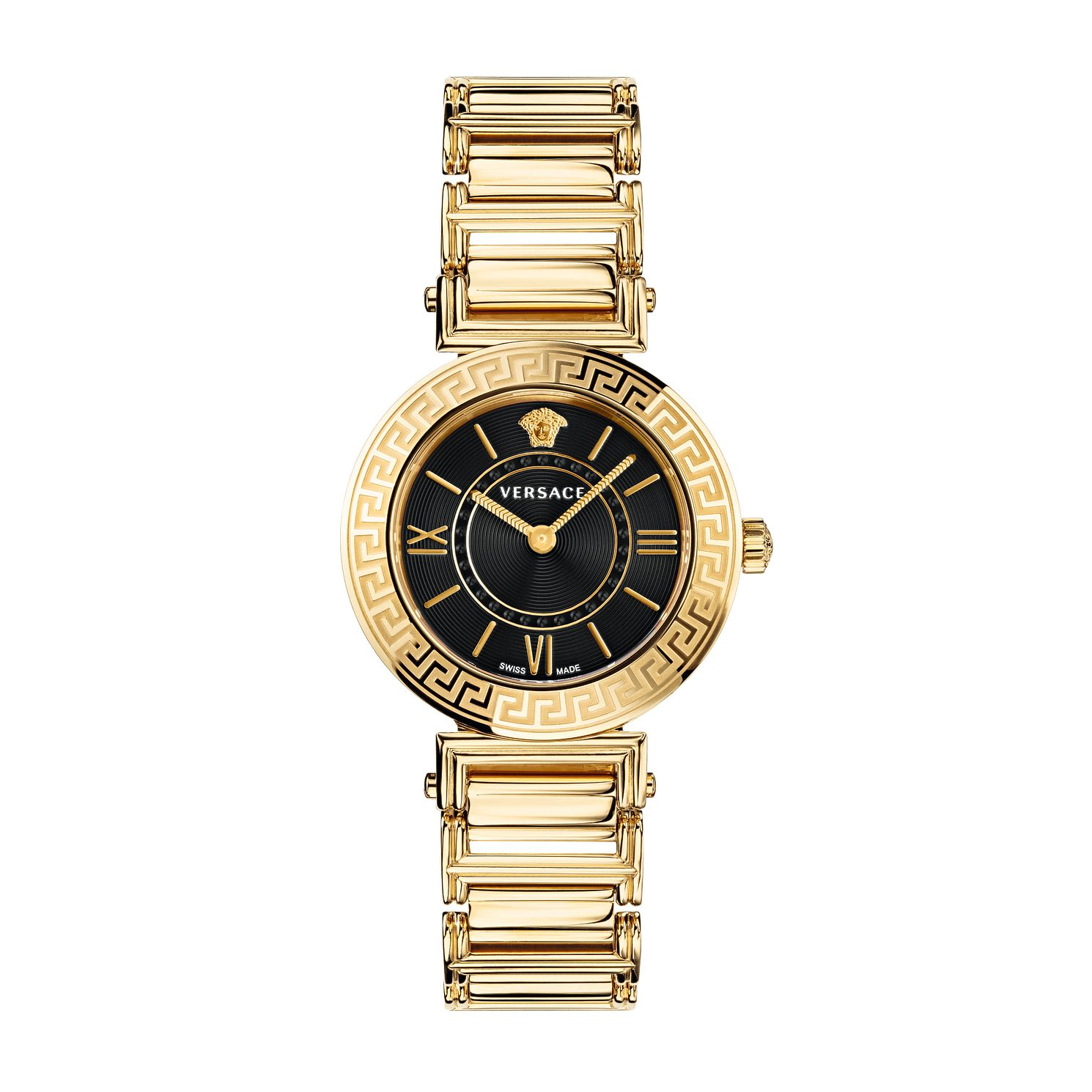 Versace Tribute Ladies' Yellow Gold Tone Bracelet Watch - Product number 1202588