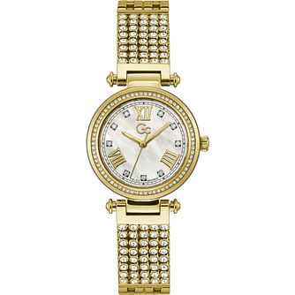 Gc PrimeChic Ladies' Yellow Gold Tone Bracelet Watch - Product number 1202847
