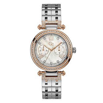 Gc PrimeChic Large Ladies' Two Tone Bracelet Watch - Product number 1202863
