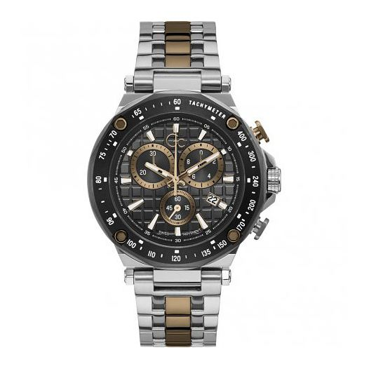 Gc Spirit Sport Men's Two Tone Bracelet Watch - Product number 1202901