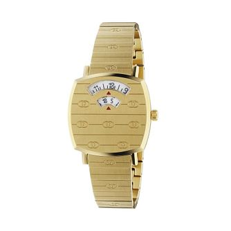Gucci Grip Unisex Yellow Gold Tone Bracelet Watch - Product number 1203215