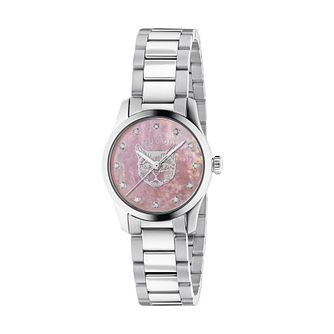 Gucci G-Timeless Iconic Diamond Stainless Steel Watch - Product number 1203231