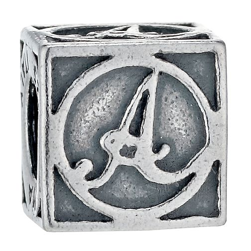 Charmed Memories Sterling Silver A Initial Bead - Product number 1238086