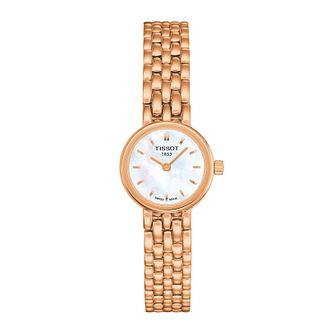 Tissot Lovely Ladies' Rose Gold Tone Bracelet Watch - Product number 1250809