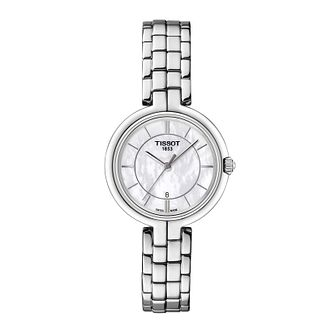 Tissot Flamingo Ladies' Stainless Steel Bracelet Watch - Product number 1250833