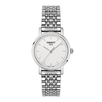Tissot Everytime Ladies' Stainless Steel Bracelet Watch - Product number 1250892