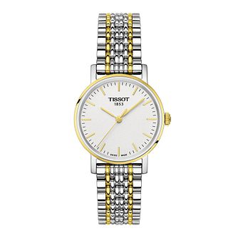 Tissot Everytime Ladies' Two Tone Bracelet Watch - Product number 1250906
