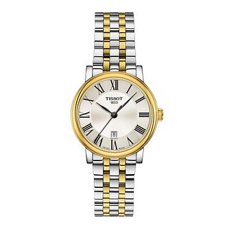 Tissot Carson Ladies' Two Tone Bracelet Watch - Product number 1250949