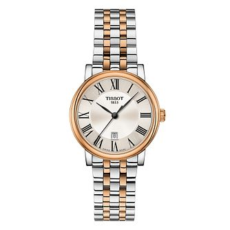 Tissot Carson Ladies' Two Tone Bracelet Watch - Product number 1250957