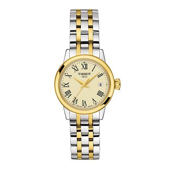 Tissot Classic Dream Ladies' Two Tone Bracelet Watch - Product number 1250981