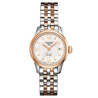 Tissot Le Locle Ladies' Two Tone Bracelet Watch - Product number 1251031