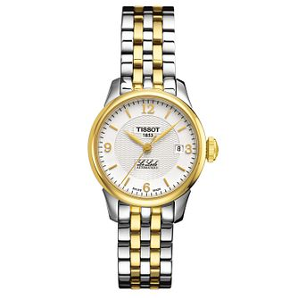 Tissot Le Locle Ladies' Two Tone Bracelet Watch - Product number 1251058