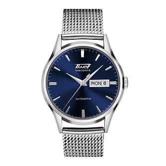 Tissot Heritage Visodate Stainless Steel Mesh Bracelet Watch - Product number 1251120