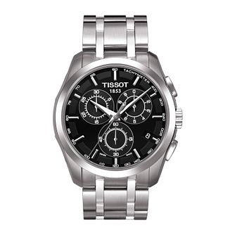 Tissot Couturier Men's Stainless Steel Bracelet Watch - Product number 1251147