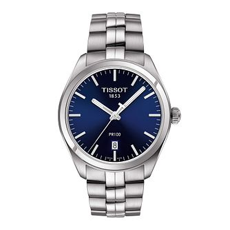 Tissot PR 100 Men's Stainless Steel Bracelet Watch - Product number 1251236