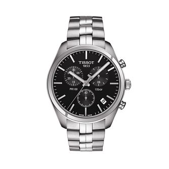 Tissot PR 100 Men's Stainless Steel Bracelet Watch - Product number 1251252