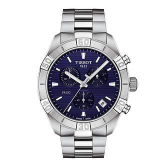 Tissot Sport Chic Men's Stainless Steel Bracelet Watch - Product number 1251287