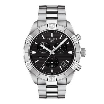 Tissot Sport Chic Men's Stainless Steel Bracelet Watch - Product number 1251295