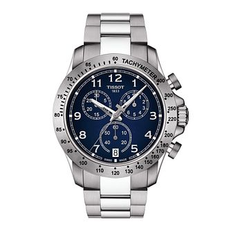 Tissot V8 Chronograph Men's Stainless Steel Bracelet Watch - Product number 1251309