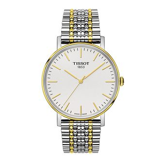 Tissot Everytime Men's Two Tone Bracelet Watch - Product number 1251368