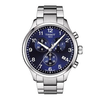 Tissot Chrono XL Men's Stainless Steel Bracelet Watch - Product number 1251430