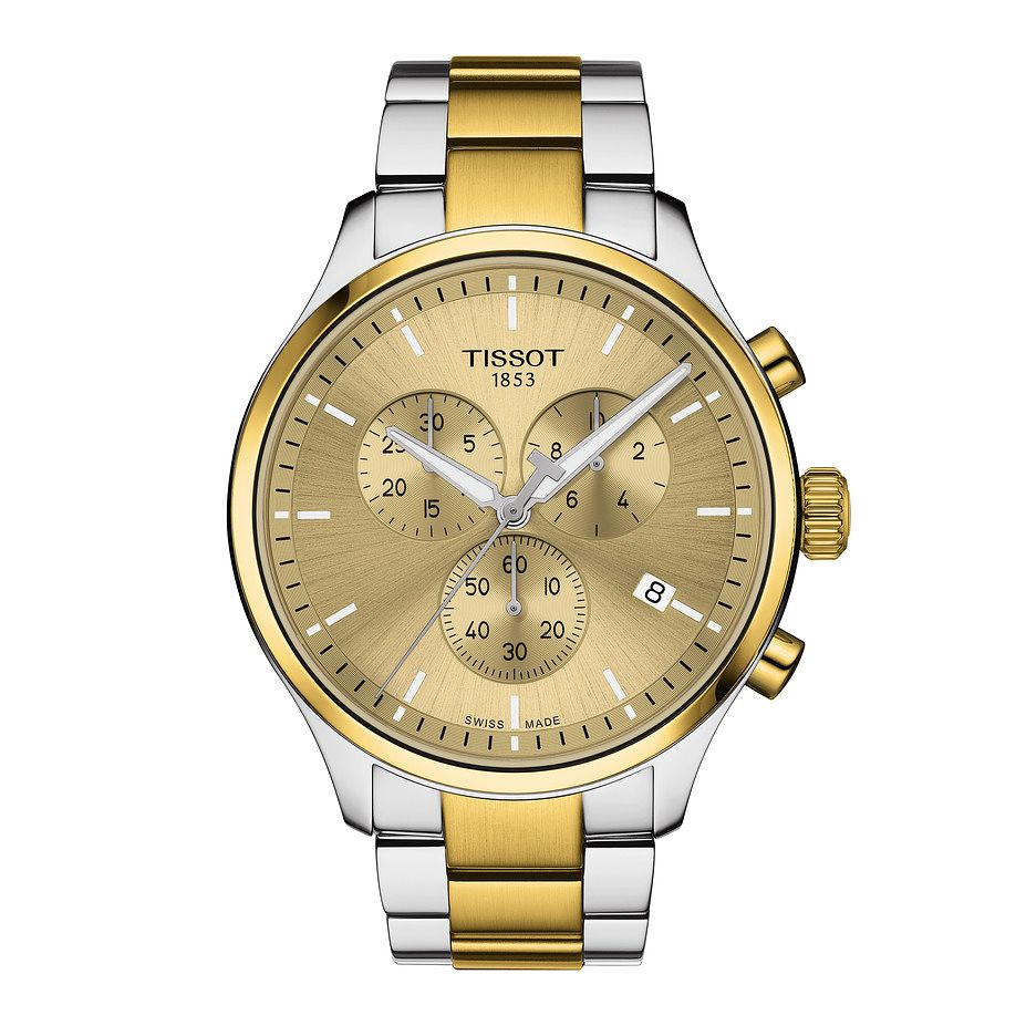 Tissot Chrono XL Classic Men's Two Tone Bracelet Watch - Product number 1251481