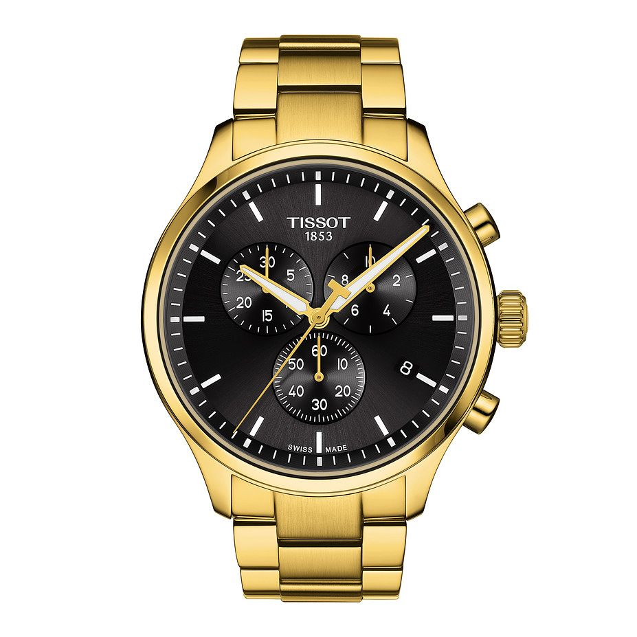 Tissot Chrono XL Classic Yellow Gold Tone Bracelet Watch - Product number 1251538