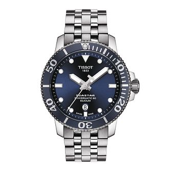 Tissot Seastar 1000 Men's Stainless Steel Bracelet Watch - Product number 1251562