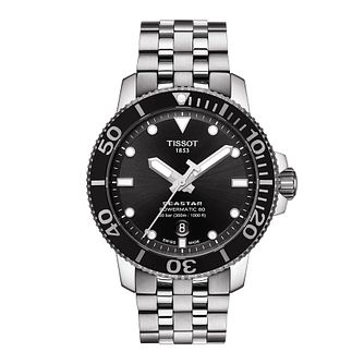 Tissot Seastar 1000 Men's Stainless Steel Bracelet Watch - Product number 1251570