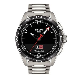 Tissot T-Touch Connect Solar Stainless Steel Bracelet Watch - Product number 1251627