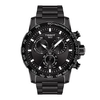 Tissot SuperSport Chrono Black IP Bracelet Watch - Product number 1251775