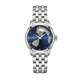 Hamilton Jazzmaster Open Heart Ladies' Bracelet Watch - Product number 1251929