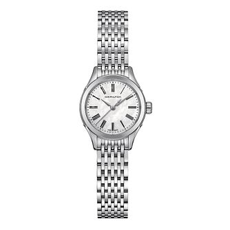 Hamilton Valiant Ladies' Stainless Steel Bracelet Watch - Product number 1251945